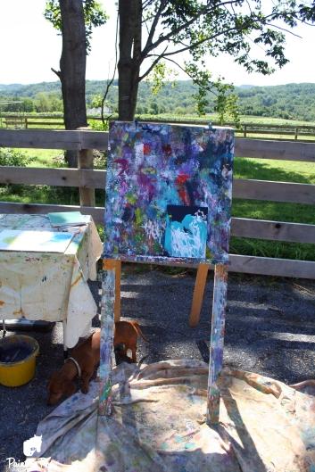 Chincoteague Minnow painting